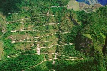zigzag-path
