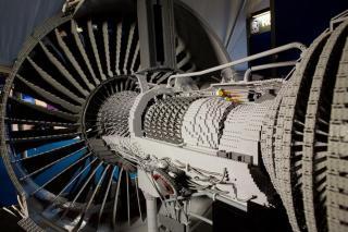Lego Jet Engine